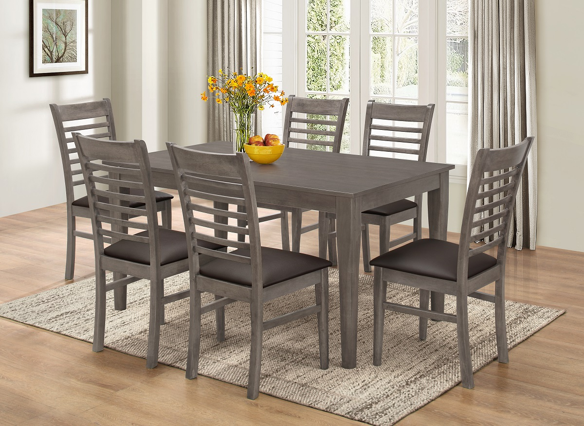 7712 Gray Dining Chairs